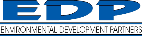 EDP Water | Environmental Development Partners, LLC Retina Logo